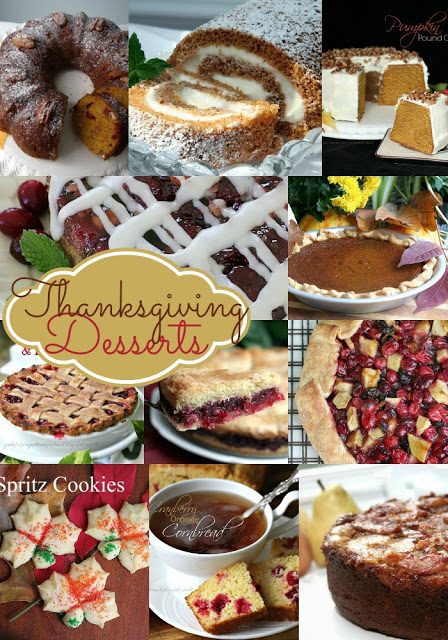 You are sure to find the perfect choice for your holiday dinner in this collection of delicious Thanksgiving desserts including pies, cookies and cakes.