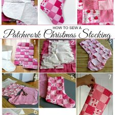 Patchwork Christmas Stocking