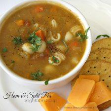 Ham & Split Pea Vegetable Soup