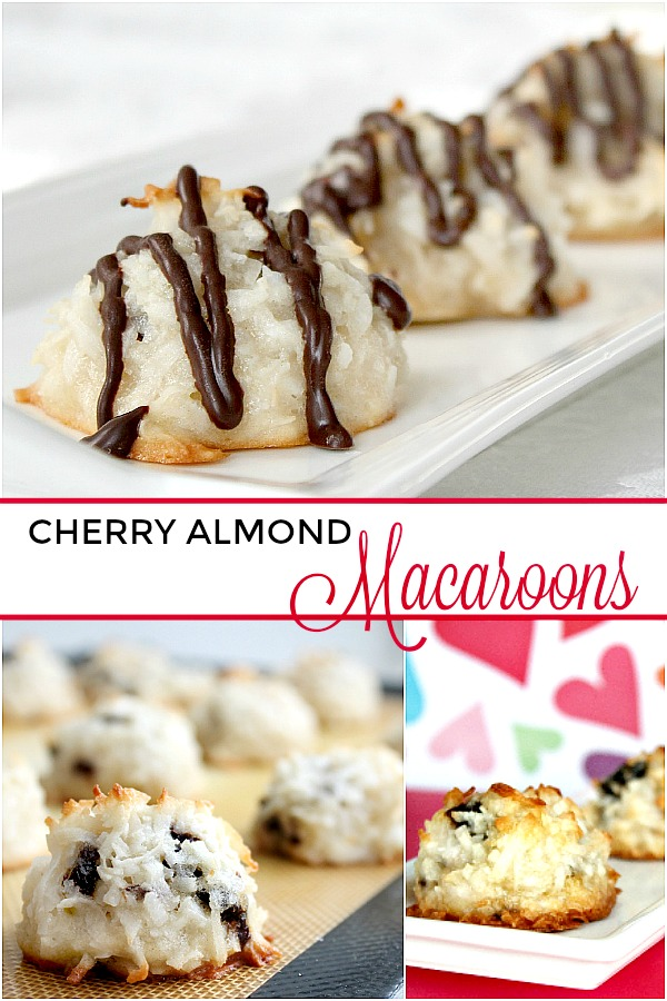 Cherry Almond Macaroons Grateful Prayer Thankful Heart