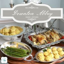 Downton Abbey Meal