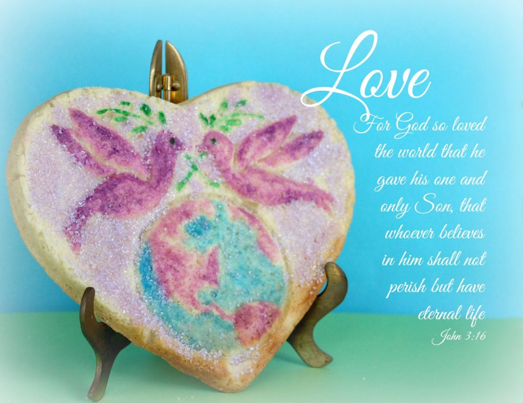 heart shaped mold sugar cookie