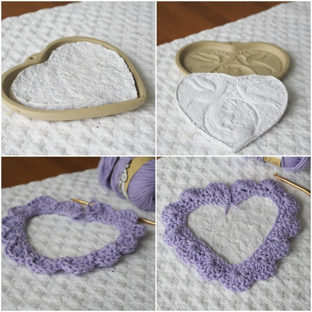 heart shaped mold tissue paper decoration
