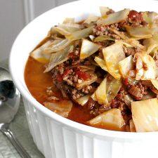 Unstuffed Cabbage Soup Recipe