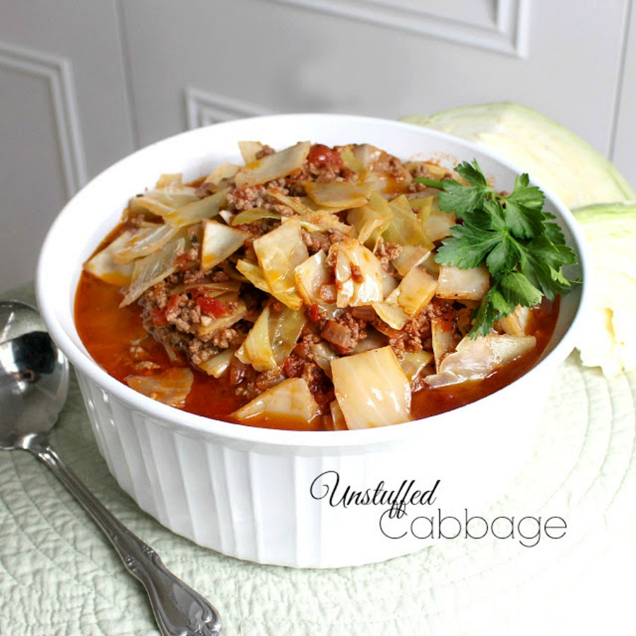 unstuffed cabbage easy recipe like cabbage rolls without the work gratefulprayerthankfulheart.com