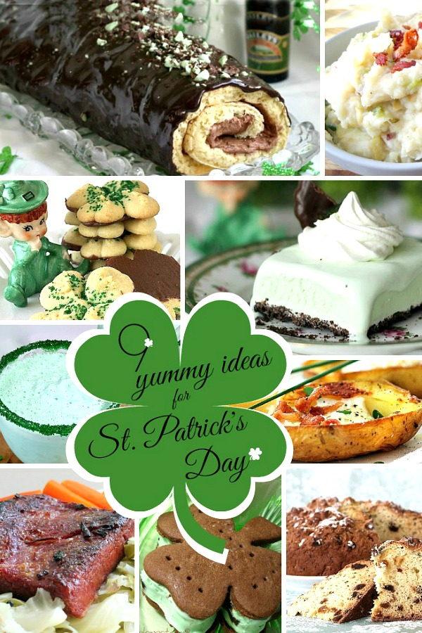 9 of Our Favorite St. Patrick's Day Foods for traditional dinner, side dishes and desserts.