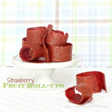 Strawberry Fruit Roll-ups Recipe