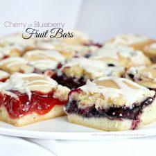 Cherry or Blueberry Fruit Bars