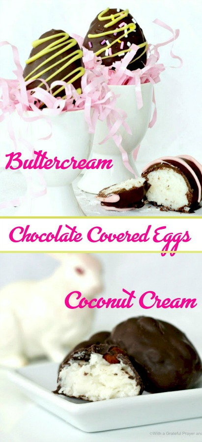 Making Easter chocolate eggs is such an endearing tradition especially when done together with children or grandchildren. Gather up the ingredients, corral some children and make some delicious, chocolate buttercream and coconut Easter eggs together.