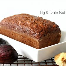 Fig & Date Nut Bread