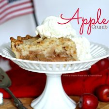 Apple Crumb Pie & Pledge of Allegiance Printable
