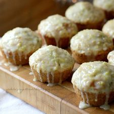 Poppyseed Muffins with Sweet Lemon Glaze