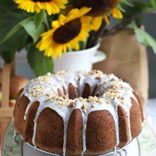 Apple Walnut Bundt Cake