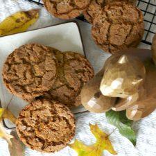Baking Ginger Crinkles Cookies