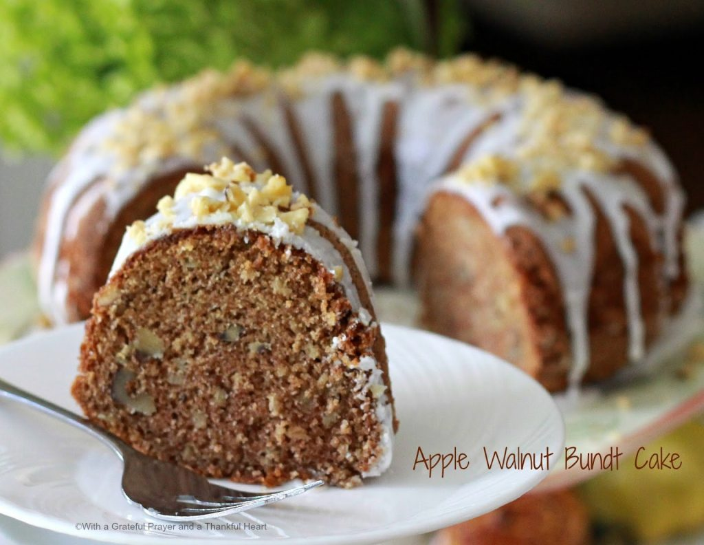 Apple-Walnut Bundt Cake