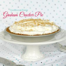 Grandmom Elsie's Graham Cracker Pie