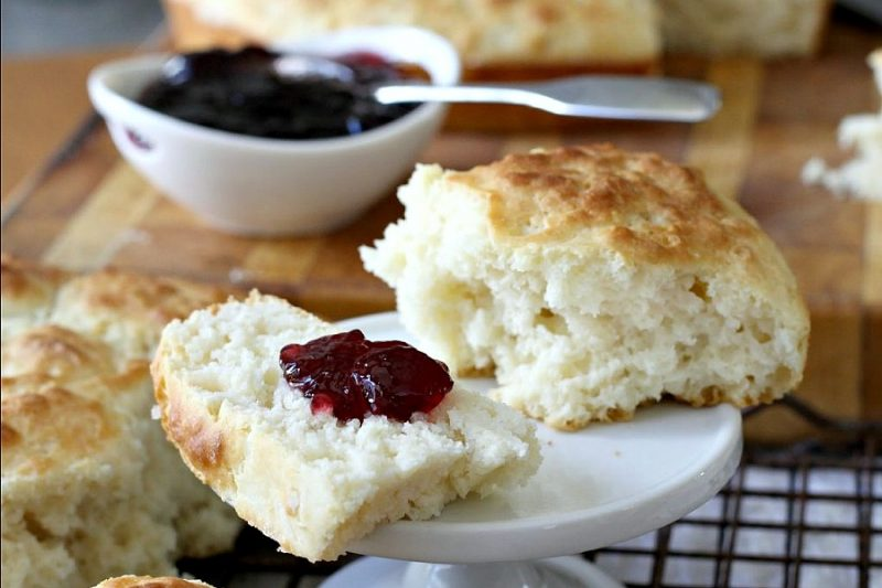 Easy recipe for feather-light buttermilk biscuits. Delicious, light and easy to prepare. No one will notice they are lighter in fat and calories.