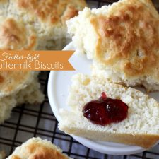 Lightened Feather-Light Buttermilk Biscuits