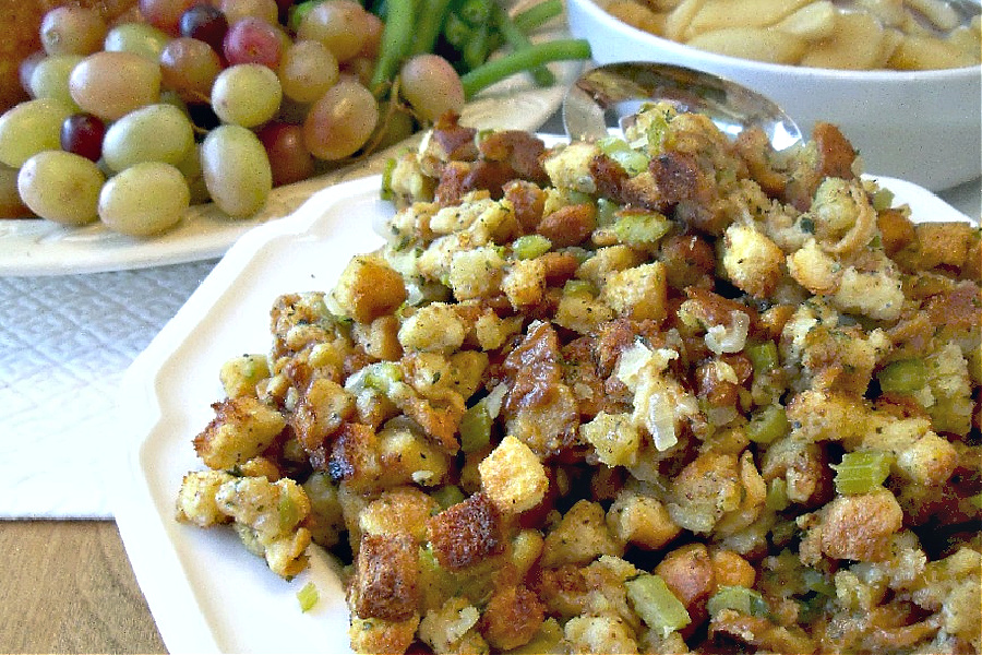 Old time stuffing recipe