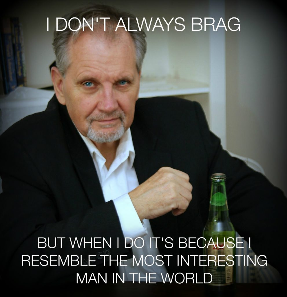 The Most Interesting Man in the World, Dos Equis Beer commercials look-alike.