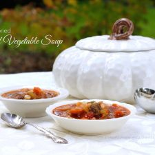 Old-Fashioned Beef Vegetable Soup