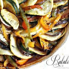 Ratatouille for French Inspired Birthday Lunch