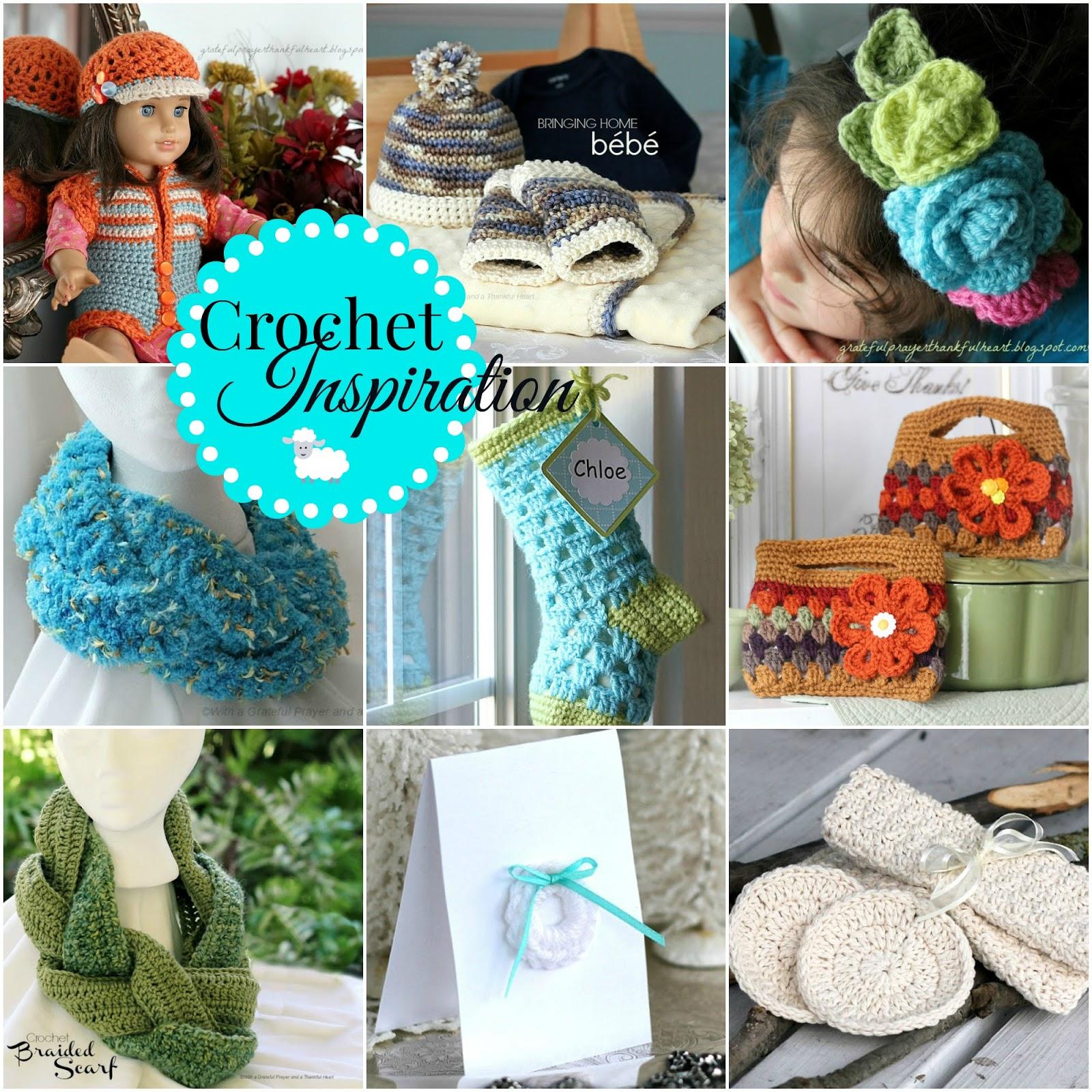 Inspiration Ideas: Crochet Inspiration And Gift Ideas