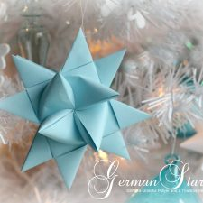 Folded German Stars Tutorial (5)