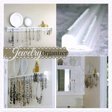 Wall-Mounted Jewelry Organizer
