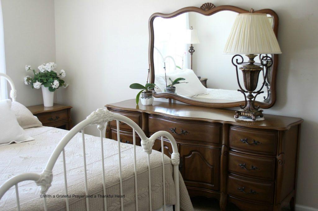 Vintage French Provincial Bedroom Set | Grateful Prayer | Thankful Heart