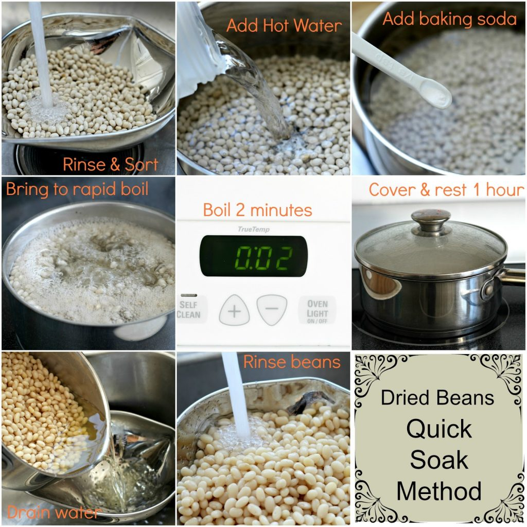 Eating beans is economical and pack a lot of health benefits. This easy, tutorial shows you how to cook dried beans for freezing, eating and recipes.