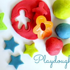 Making Modeling Playdough