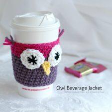 Crochet Beverage Cup Jackets