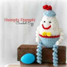 Crochet Humpty Dumpty Egg