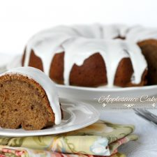 Applesauce Cake from Grandmom's Recipe