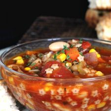 Cleaning-Out-the-Fridge Soup