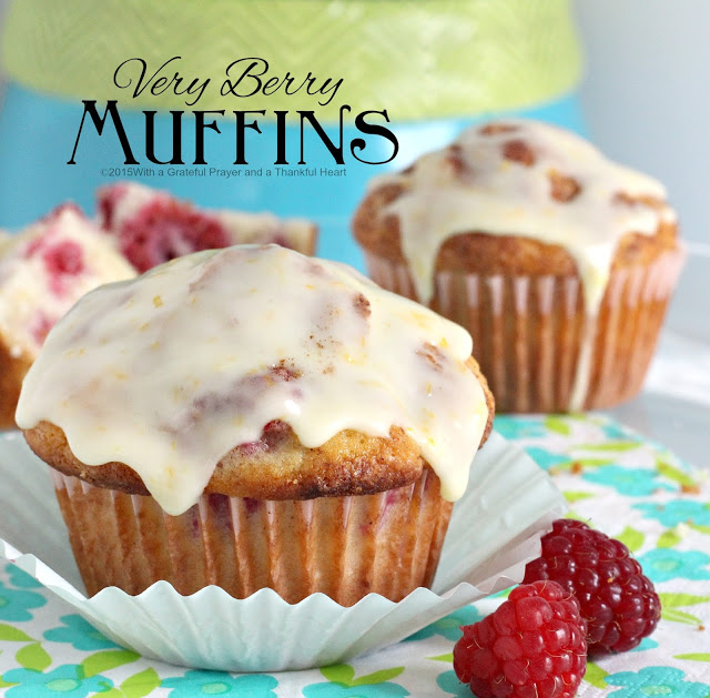 An easy recipe for classic muffin using your favorite berry. These very berry muffins use raspberries with a lovely orange glaze frosting.