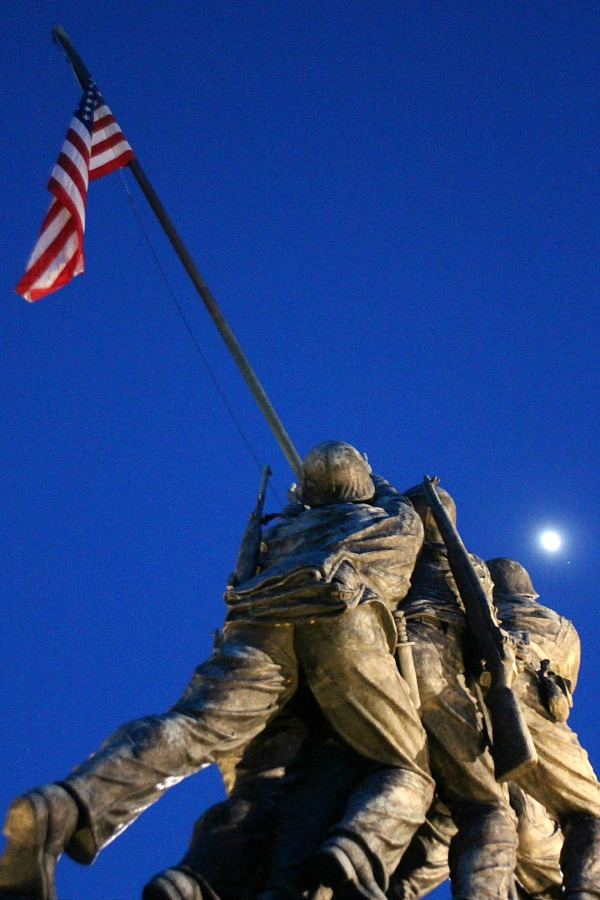 If visiting Washington, DC, find time to visit the US Marine Corps War Memorial Iwo Jima.