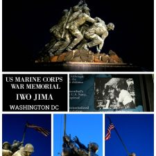 US Marine Corps War Memorial Iwo Jima