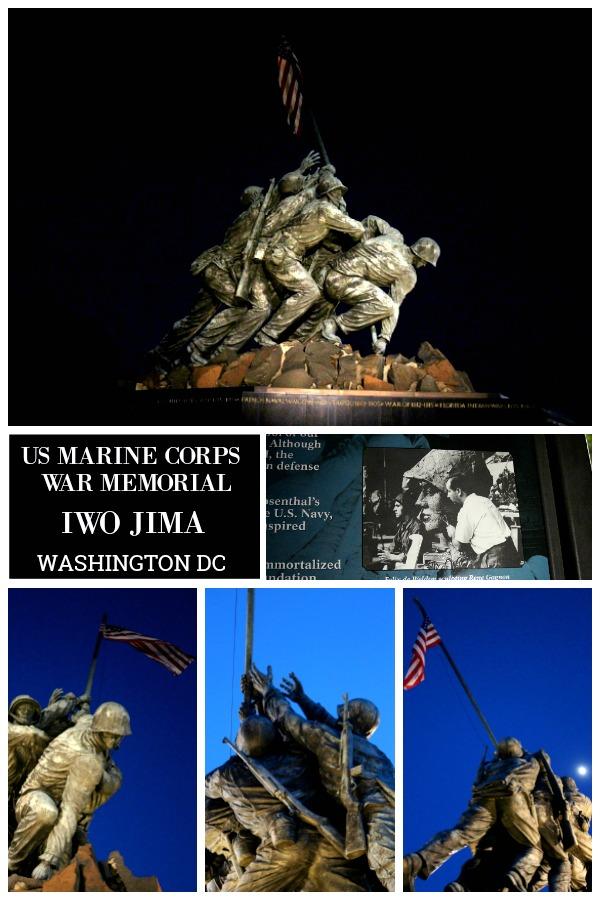 If visiting Washington, DC, find time to visit the US Marine Corps War Memorial Iwo Jima.