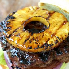 Grilled Teriyaki Burger