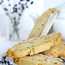 Biscotti with Lavender
