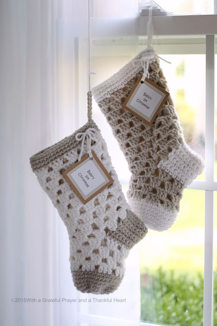 Pattern For Christmas Stockings