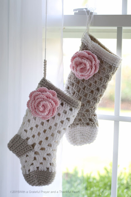 Sweet pattern for 1st Christmas crochet baby stocking is a lovely keepsake and perfect baby shower gift.