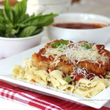 Chicken Parmesan Birthday Dinner