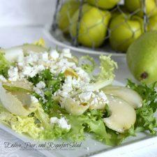 Endive, Pear, and Roquefort Salad