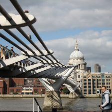 Bankside Walk and Borough Market