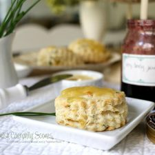 Welsh Caerphilly Cheese Scones