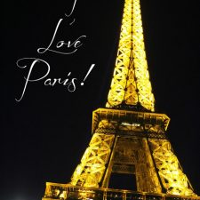 Marche de L'enfante Rouge, Notra Dame, Sainte Chapelle, Eiffel Tower & Nuit Blanche
