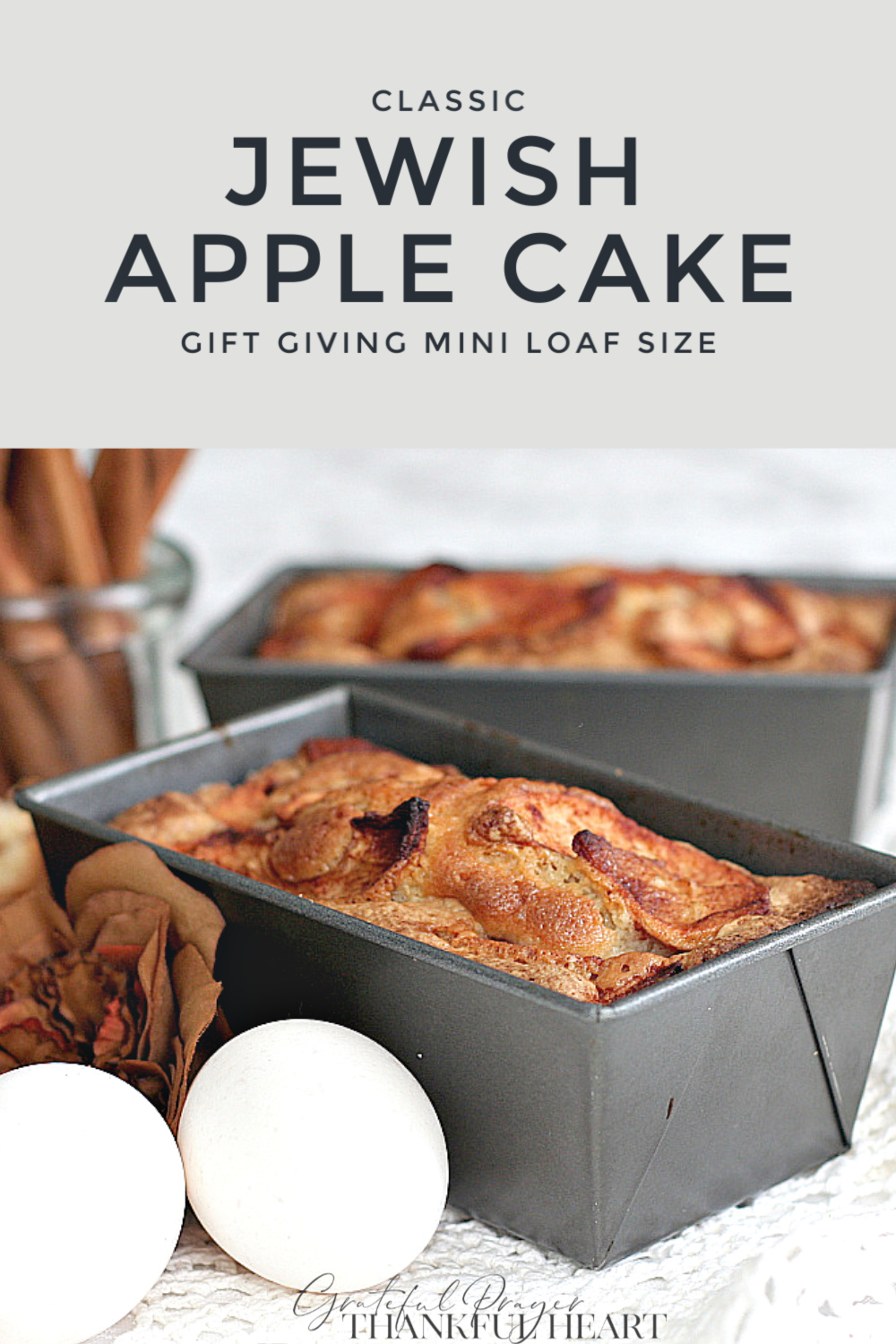 Incredibly delicious and moist, classic Jewish apple cake from mom's vintage recipe. Baked in a tube or Bundt pan and filled with the wonderful autumn flavors of apple and cinnamon. Lovely gift from the kitchen.
